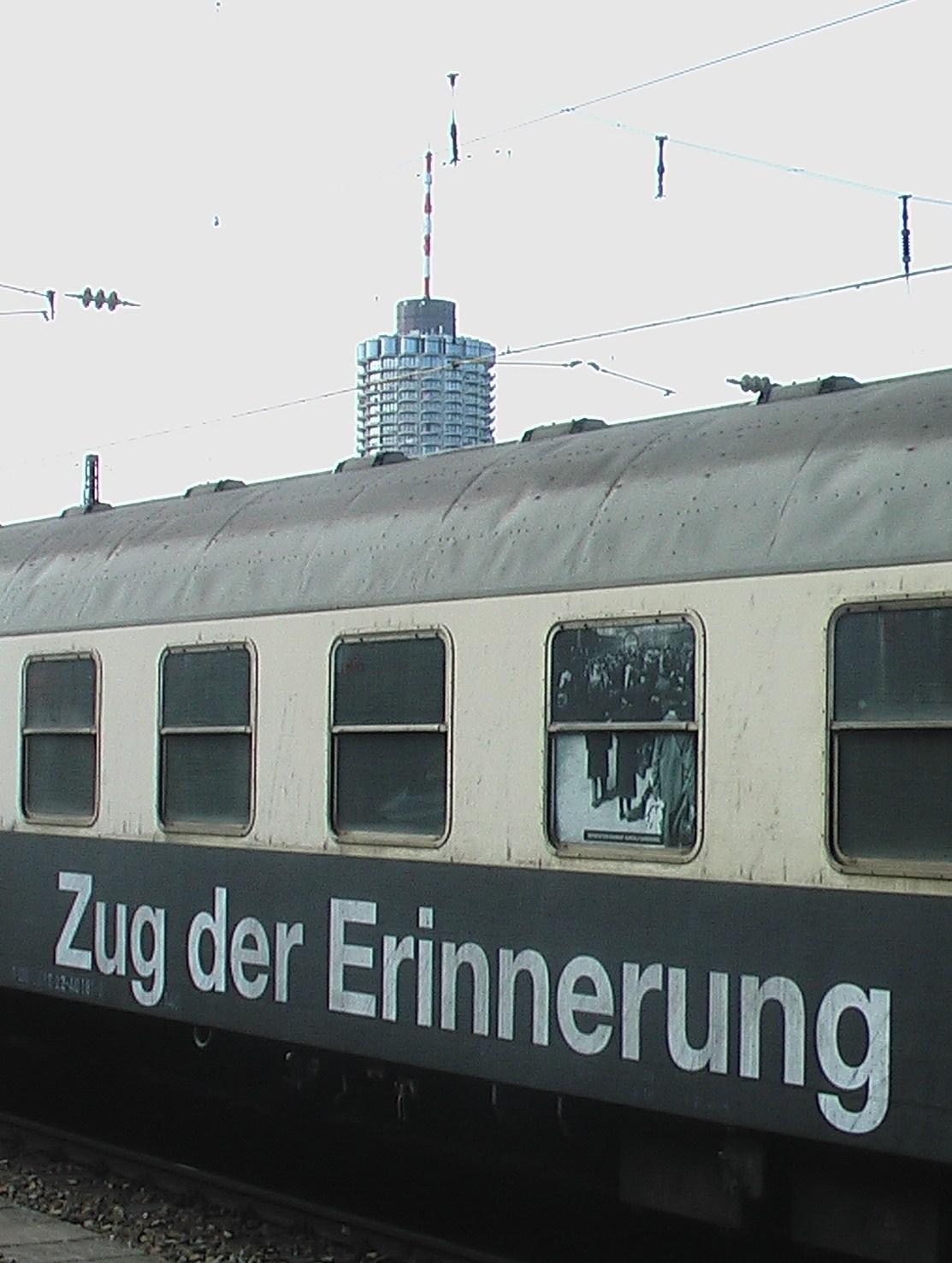 """""""zug der erinnerung in augsburg"""""""