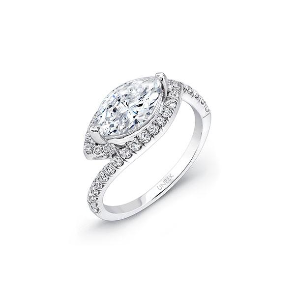 Uneek diamond engagement ring