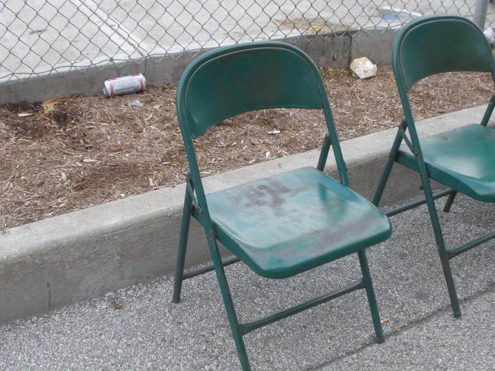 folding chair green video game best buy chairs ji500