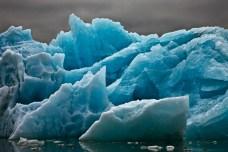 Blue Underside Revealed Detail II, Svalbard, July 5, 2010