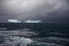 Icebergs Colliding Near Elephant Island, Southern Ocean, February 1, 2010