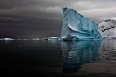 Majestic Iceberg III, Errera Channel, Antarctic Peninsula, December 15, 2007