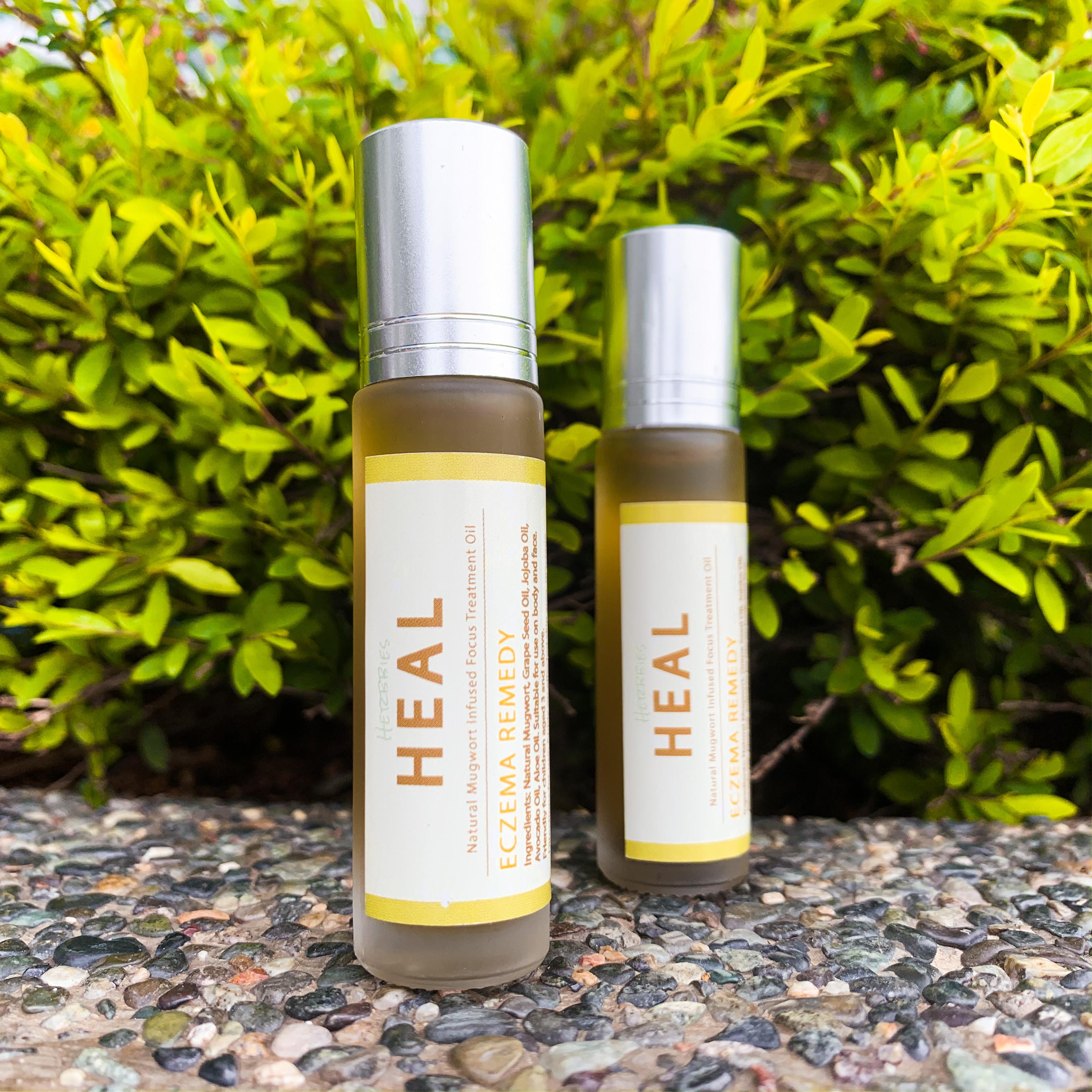 HEAL艾草-牛皮癬皮膚治療油