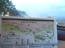 Tour map of Grand Canyon