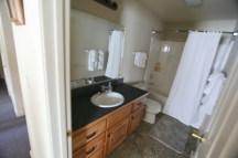 This room has three full baths like this.