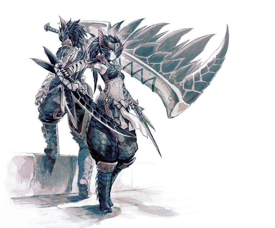 傳奇遊戲簡介-魔物獵人 | JIBAO - 洞悉教材的趨勢