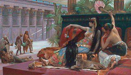 রানী ক্লিওপেট্রা প্রাচীন ছবি