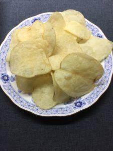 ポテトチップス,盛り付け