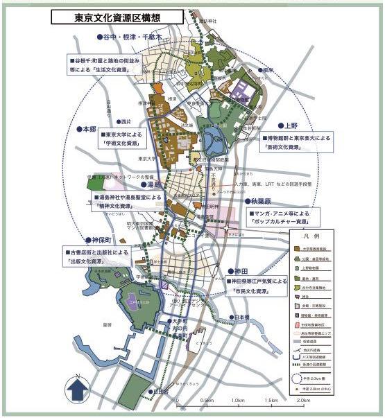 東京文化資源会議地図2015