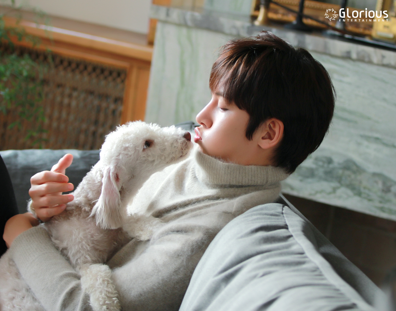 Photo Ji Chang Wook behindscenes photos for Be With