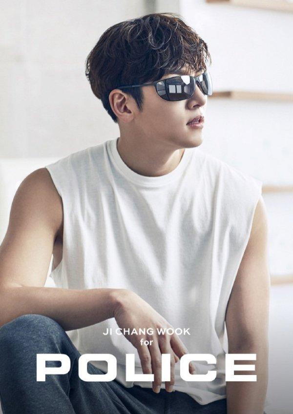Cute Line Wallpaper Cf Ji Chang Wook Looks Arresting For Police Eyewear Ji