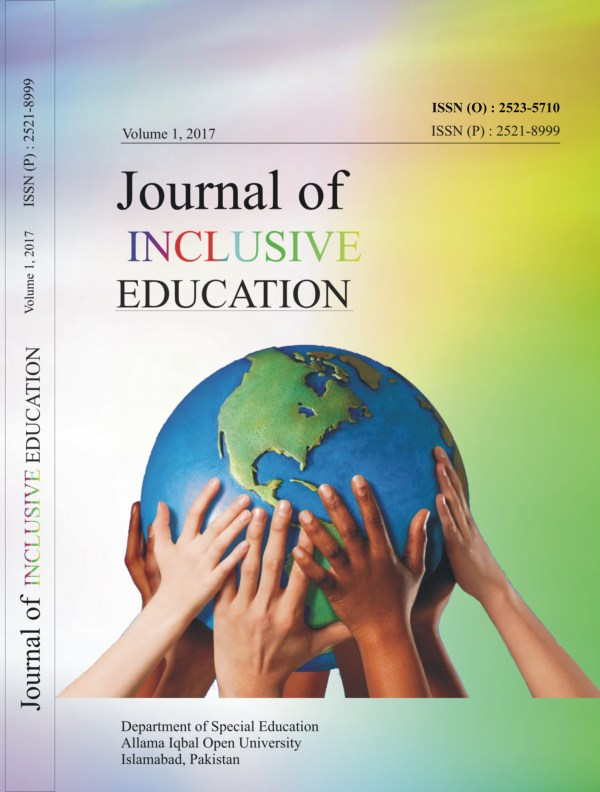 Policy Journal Of Inclusive Education Jie