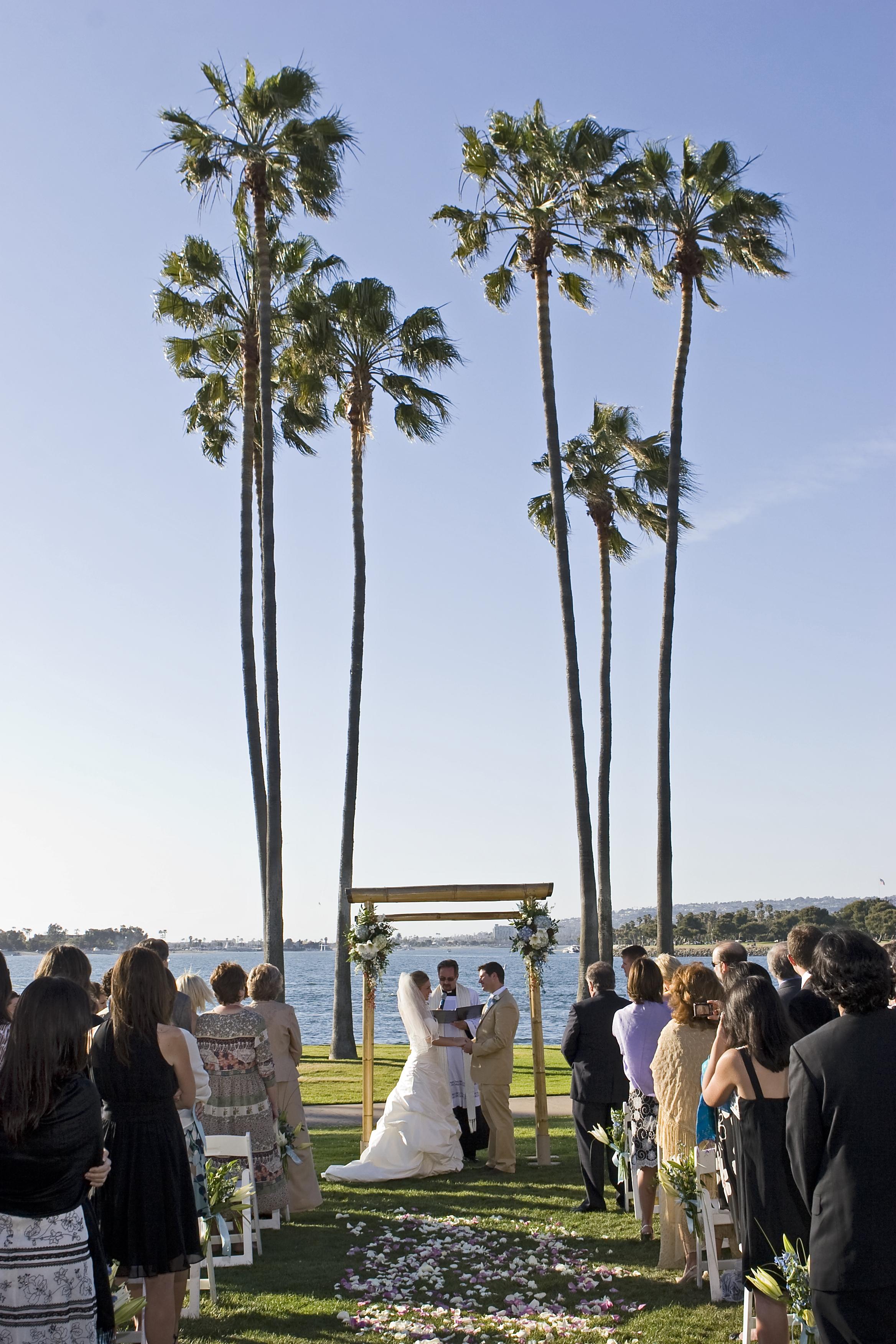 Ceremony at The Dana, Mission Bay