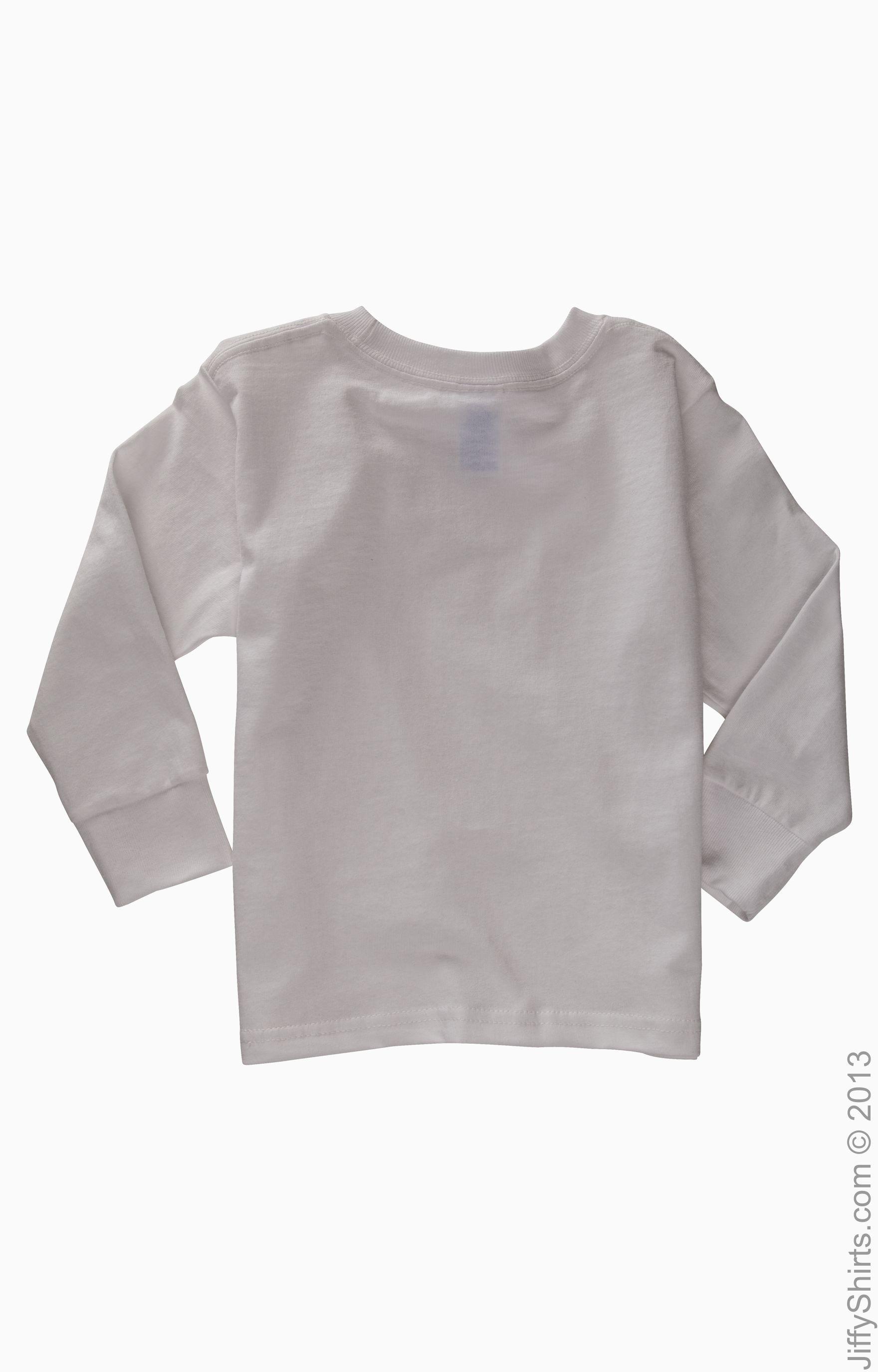 Rabbit skins toddler long sleeve cotton jersey  shirt jiffyshirts also rh