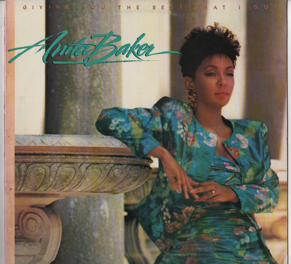 Anita Baker  Giving You The Best That I Got (lp