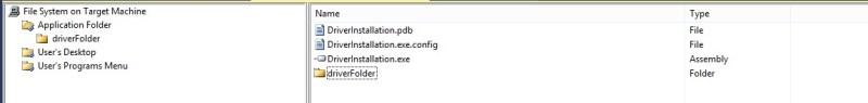 Add Entire Release Folder in the Application Folder