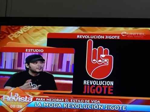 Federico Morón hablando sobre la Revolución Jigote