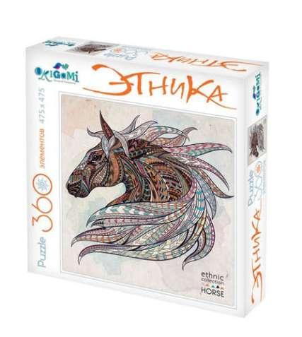 origami ethnic horse