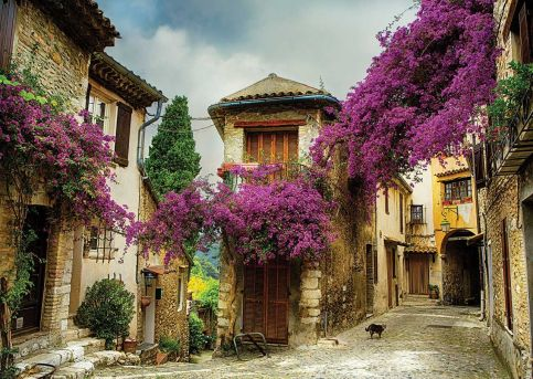 11375-ks-games-500-parca-flowered-village-houses-brigitte-peyton-puzzle-24