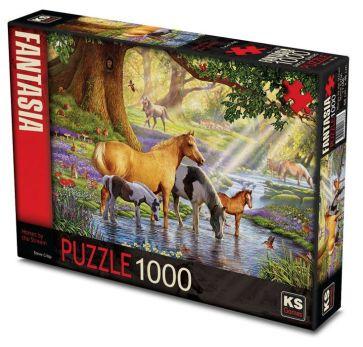 11388-ks-games-1000-parca-horses-by-the-stream-steve-crisp-puzzle-30