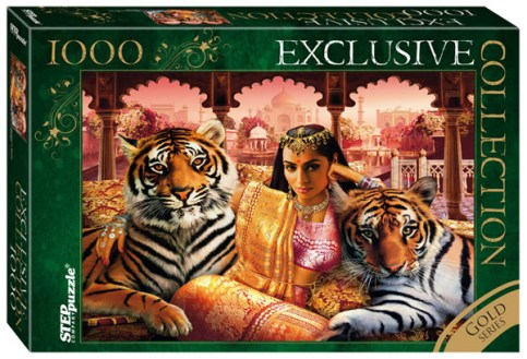 indian princess step puzzle 1000