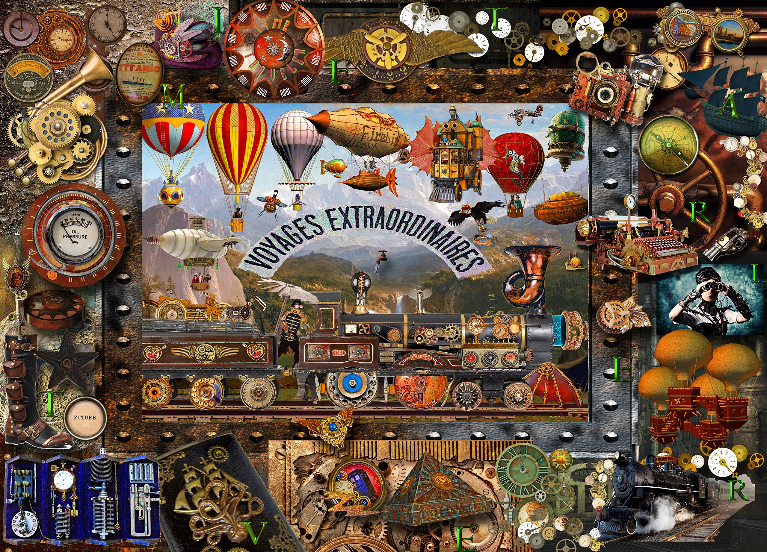 Collage Jigsaw Puzzles For Adults