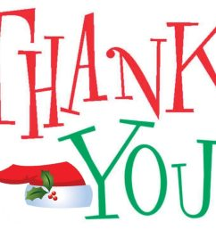 christmas thank you clip art free clipart images 2 [ 1024 x 768 Pixel ]