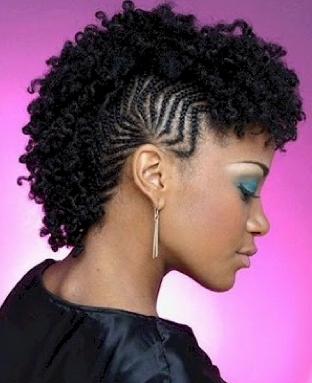 20 Nigerian Natural Hair Styles 2017 To Keep Your Hair Healthy