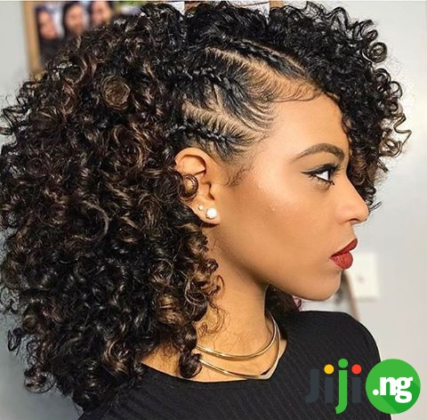 25 Black Natural Hairstyles For Medium Length Hair Jiji Blog