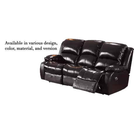 triple reclining sofa pads for dogs buy jiji singapore beaumont 3 seater recliner built in