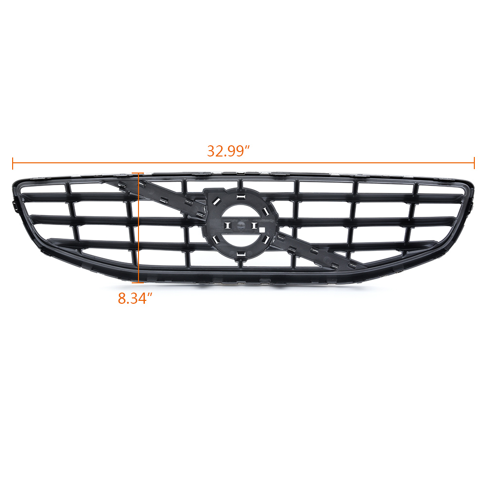 Chrome ABS Front Bumper Radiator Upper Grill Trim FOR 2011