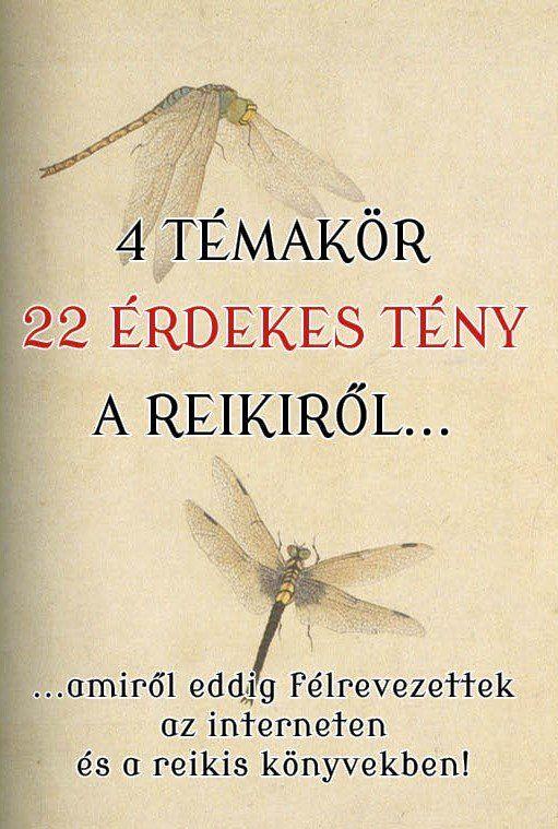 Jikiden Reiki 4 témakör 22 érdekes tény a reikiről borító