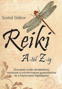 Szabó Gábor Reiki A-tól Z-ig könyv címlap