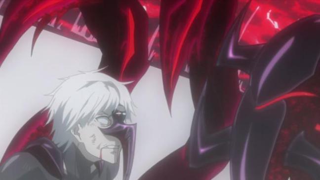 Kaneki Centipede vs Amon