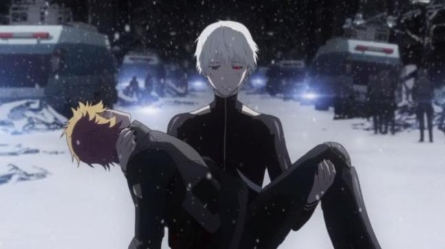 Kaneki Carrying Hideyoshi