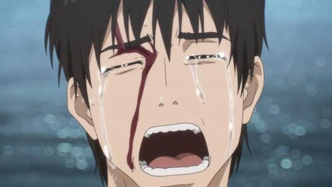 Kiseijuu Ep 22 Summary Shinichi Mourning