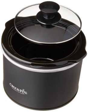 Crock pot slow cooker for one person