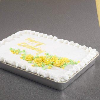 Aluminum Nordic Sheet Cake Pan