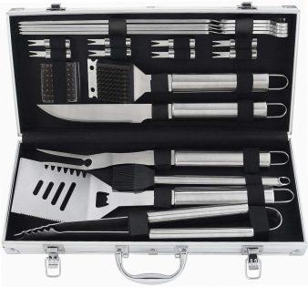 Poligio Barbecue Grill Utensil kit as gift for weddings or men
