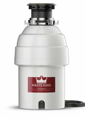 Waste king Garbage Disposal Unit with Power Cord, 1HP, are all garbage disposals the same size?