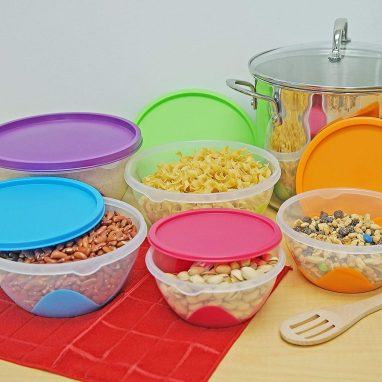 Southern stackable homeware mixing bowls