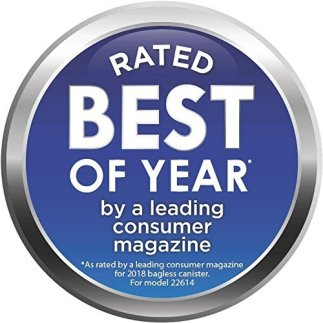 Wiinner badge of the best vacuum cleaner for the year 2018