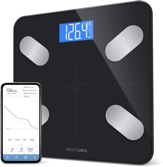 Bluetooth Digital Body fat 1byone weight scale