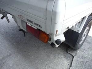 ニッサン クリッパートラック 追突被害車両修理