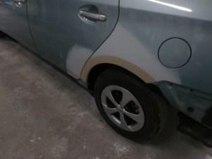 トヨタ プリウス 鈑金(板金)塗装修理事例