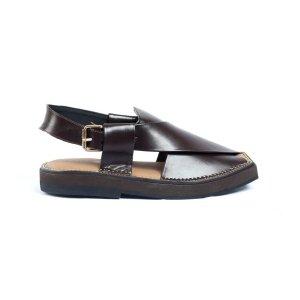 Kaptaan-Brown-Mens-Handmade-Leather-Peshawari-Chappal-Pakistan-UK