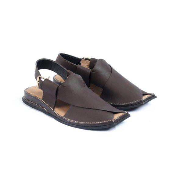 Mashaal-Brown-Mens-Handmade-Leather-Peshawari-Chappal-Pakistan-UK