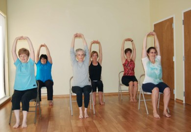 Chair Yoga Poses For Elderly