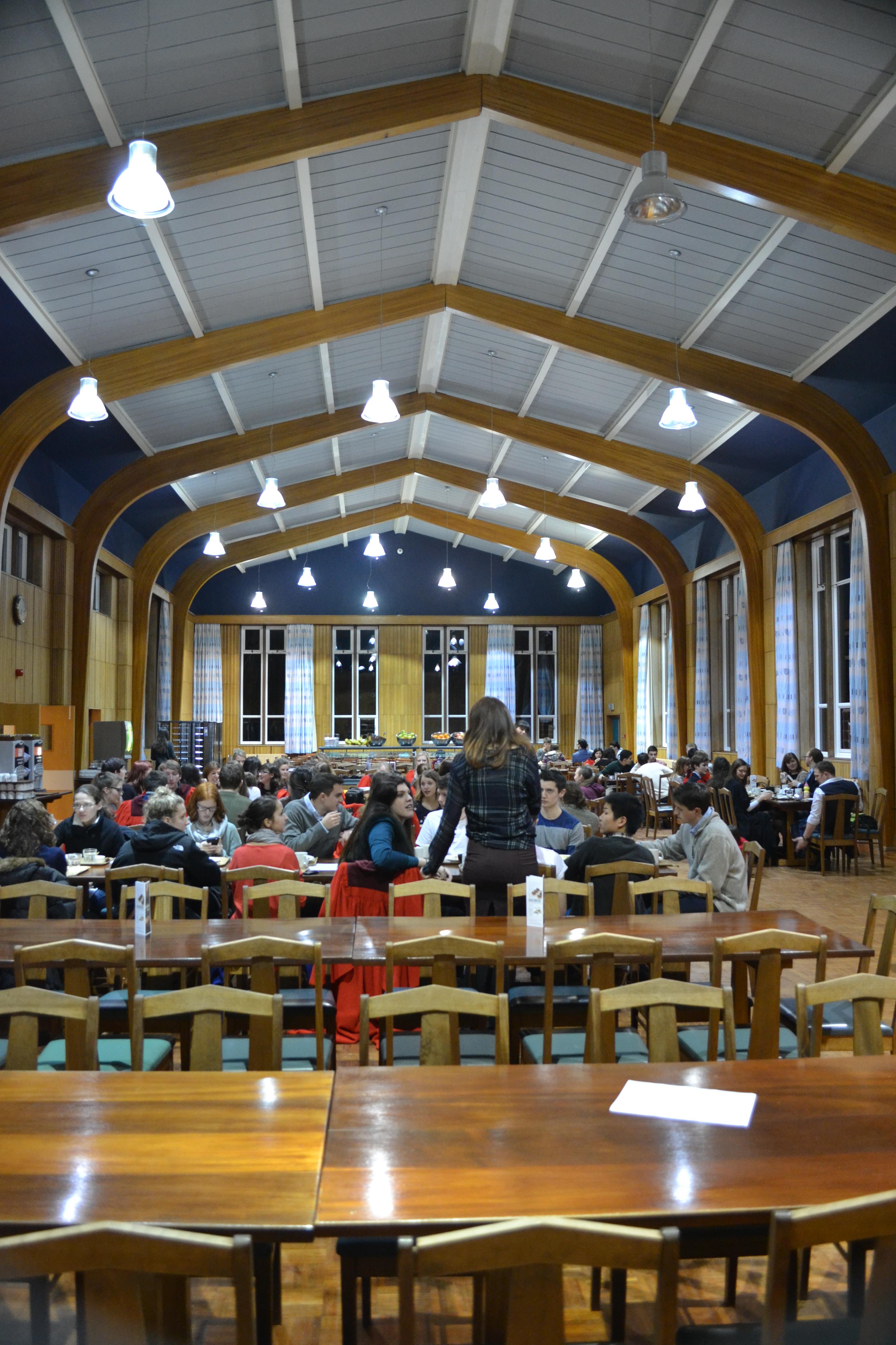 University Hall  Jill at St Andrews