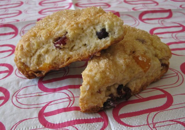 Triple-Fruit Scones